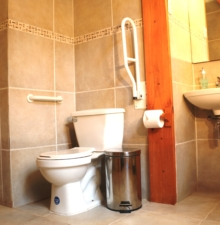 Baño accesible